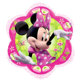 Minnie Mouse folieballon bloem | 45cm