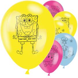 Ballonnen | Spongebob (6 st)
