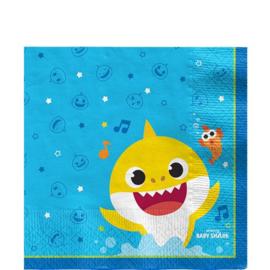 Baby Shark Papieren Servetten | 33 cm