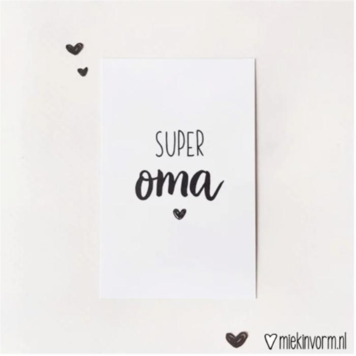 Mini-kaart | Super oma