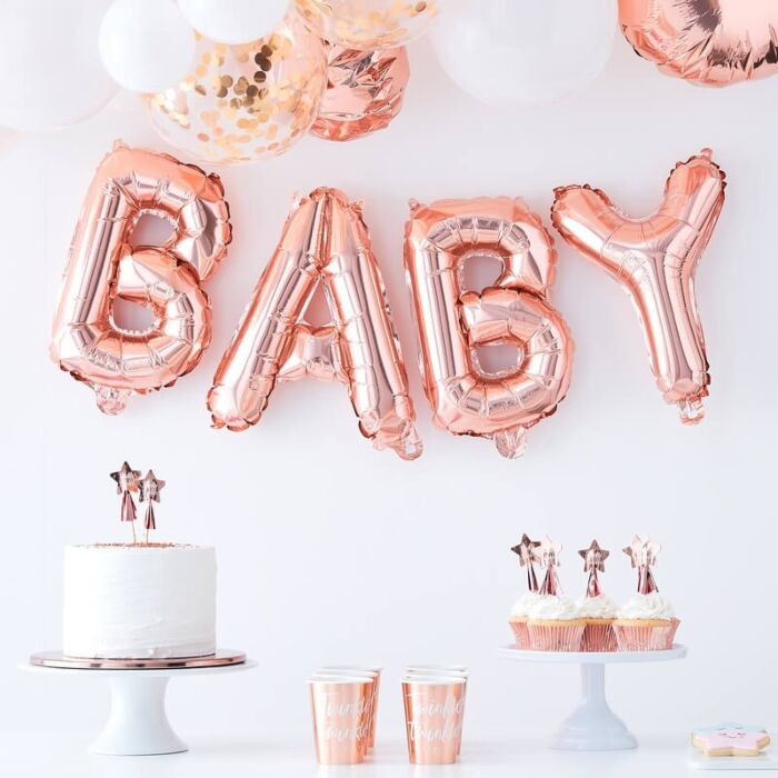 Folieballon Baby