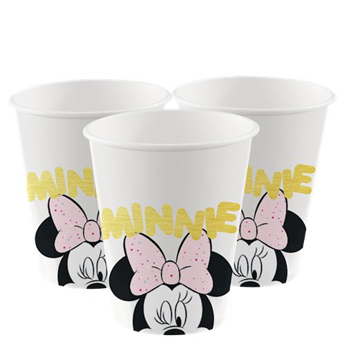 Minnie Mouse bekers 200 ml (8st)