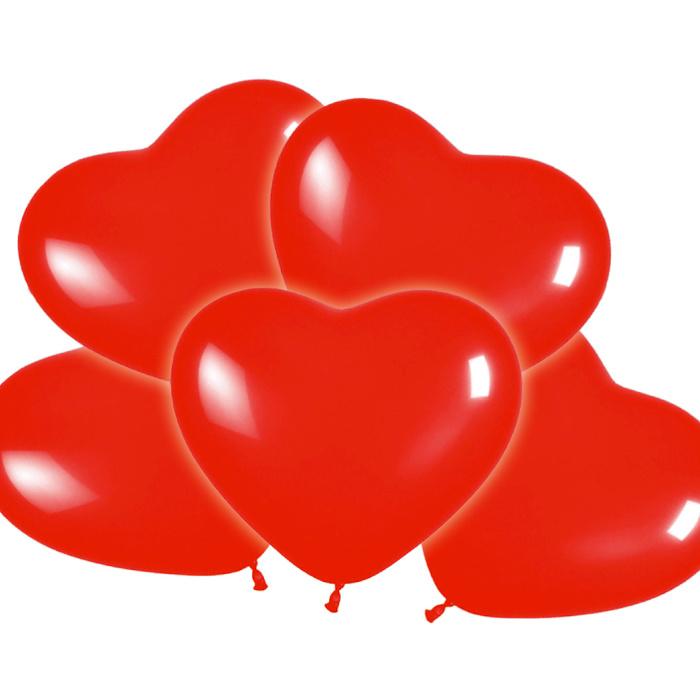 Hart ballonnen 25 cm | 12 stuks