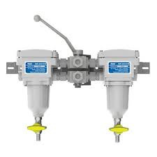 Separ SNSWK2000/5U waterafscheider groffilter dubbel uitgevoerd
