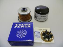 Volvo Penta MD1, Volvo Penta MD2 en Volvo Penta MD3 service set met originele Volvo Penta impeller