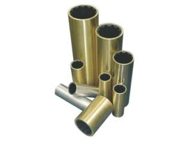 """Rubber schroefaslager 25mm uitwendig 1 1/4"""" bronzen buitenmantel"""