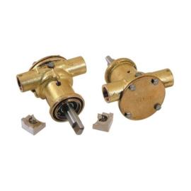 Farymann FK2 en Nanni 2.40HE impellerpomp (Johnson 9-1035211-3)