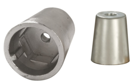 Dopmoer anode zink 20mm-25mm schroefas