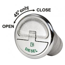 Quick Lock dekvuldop Diesel recht 38mm