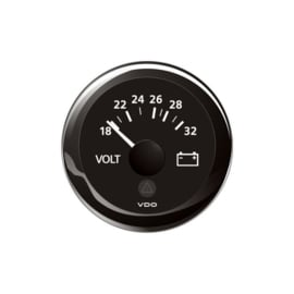 VDO voltmeter 8-16 volt