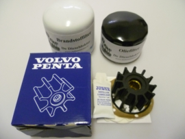 Volvo Penta 2003T (Turbo) service set (originele Volvo Penta impeller)