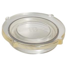 Deksel doorzichtig en O-ring voor wierfilter wierpot compact
