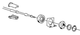 Morse trillingdemper 33C kabels