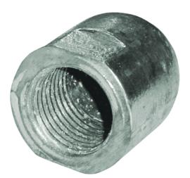 Dopmoer anode zink schroefas 22mm-25mm M16x2