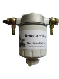 Diesel fijn filter met 8mm slangaansluiting