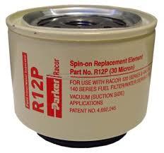 Racor R12P vervangingsfilter tbv dieselfilter waterafscheider