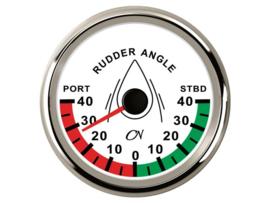 CN Roerstandmeter wit / chroom