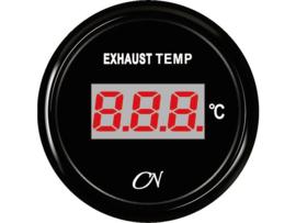 CN Digitale uitlaattemperatuurmenter zwart (pydrometer)