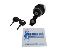 Nanni start schakelaar contactslot incl. sleutels (14603) N 48201064
