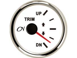 CN Trimmeter wit chroom
