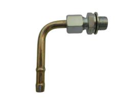 Haakse aansluiting M14 slang diameter 8mm
