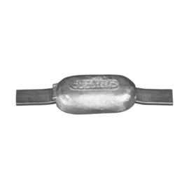 Technoseal anode aluminium met stalen lasstrip type 1 0,45 kg