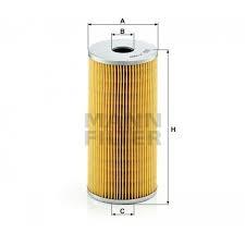 DAF1160 Oliefilter DAF 0248126 inzet filter
