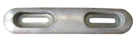 Fairline anode aluminium