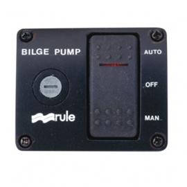 Rule 3-weg schakelaar Bilgepomp 12 volt