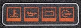 Volvo Penta symbool strip Volvo Penta 858645