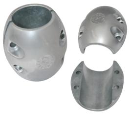 Schroefas anode zink 25mm bolvorm