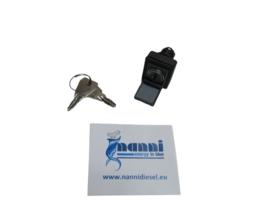 Nanni start schakelaar contactslot incl sleutels (845) N 940200031