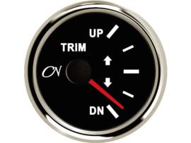 CN Trimmeter zwart / chroom