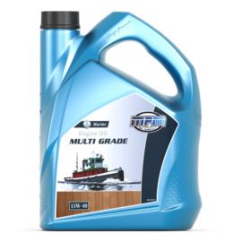 Multigrade  Marine 15W40 motorolie Mineraal 5 liter voor normale belasting
