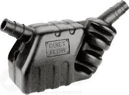 Waterlock met uitlaatdemper tot 115 pk