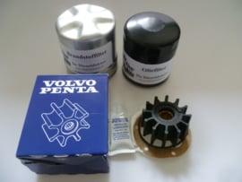 Volvo Penta D2-50 service set met originele Volvo Penta impeller