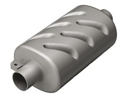 Geluiddemper kunststof 40 mm slang aansluiting