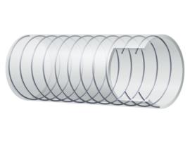 Slang helder met spiraal 10x16 mm