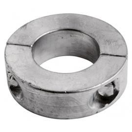 Schroefas anode zink 19mm ringvorm