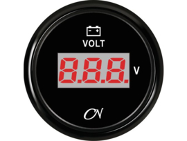 CN Digitale voltmeter zwart