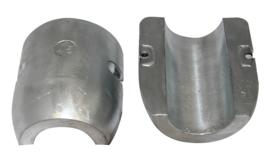 Schroefas anode zink 25mm lang model L=65mm