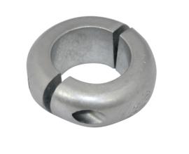 Schroefas anode zink 22mm ringvorm