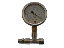 Vacuümmeter set voor Delphi filter met UNC aansluitset
