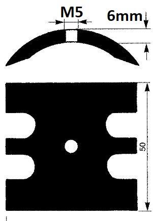 Johnson F7b 6mm cam, Johnson 01-42679, Jabsco 934-0000