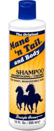"Mane ""n Tail and body shampoo"