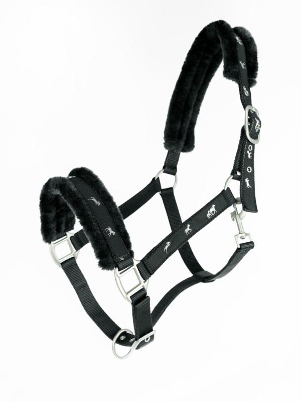 Horze Halster met touw