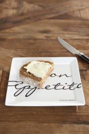 Buon Appetito Square Plate 18x18