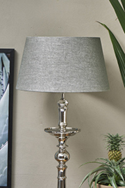 Loveable Linen Lampshade grey 35x45
