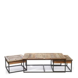 Shelter Island Coffee Table set van 3