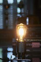 RM LED Rustic Lamp